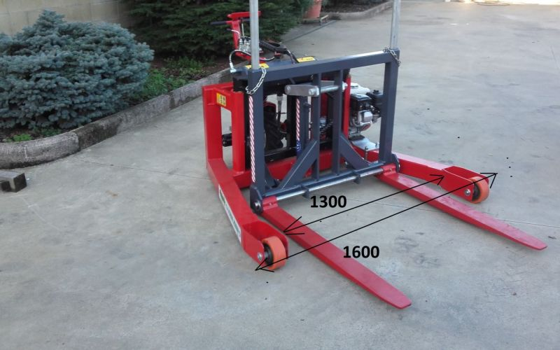 SM 600-15 R- Forklift for pellet and firewood pallets without lift