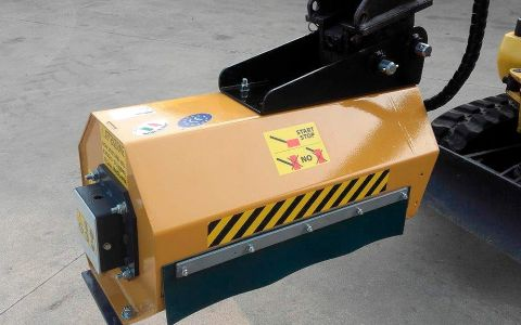 Forestry Excavator brush Shredder